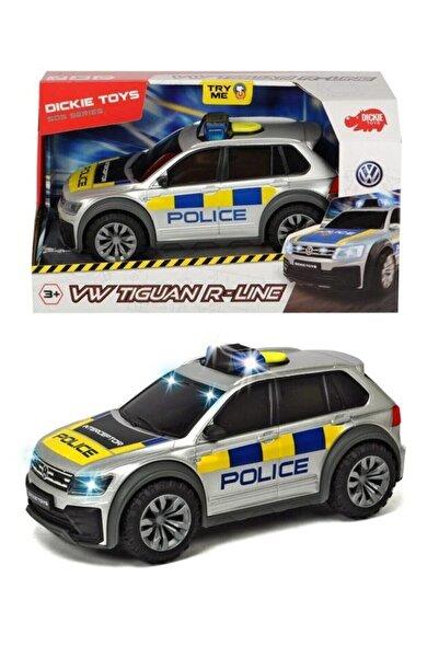 Dickie Toys Işıklı Ve Sesli Tıguan Polis Arabası 3714013