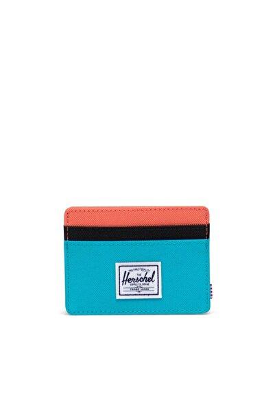 Herschel Supply Co. Herschel Kartlık Charlie Rfıd Blue Bird/black Ripstop/emberglow