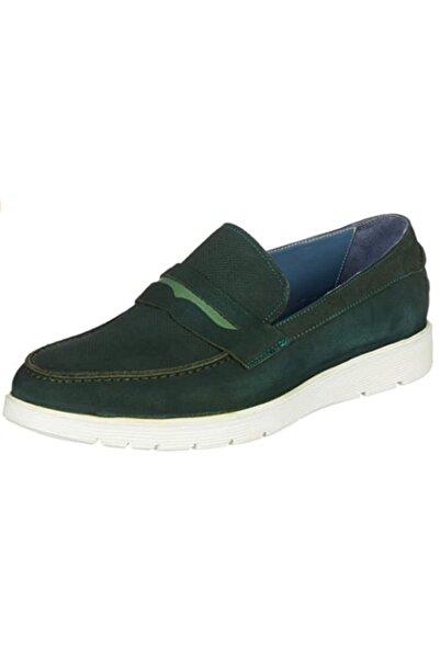 Pierre Cardin Erkek Yeşil Deri Ayakkabı