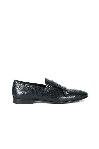 MOCASSINI Deri Çift Kemerli Erkek Klasik Ayakkabı C9013