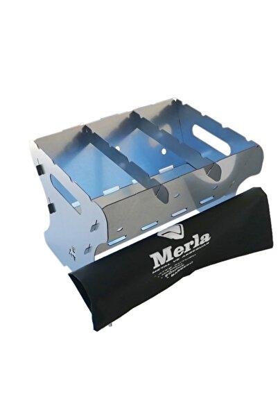 Merla Metal ve Aksesuar Paslanmaz Mangal 1,5 mm Galvaniz Izgarasız