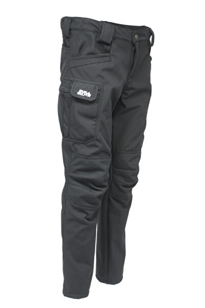 GRAY WOLF Softshell Polarlı Taktikal Pantolon (siyah)