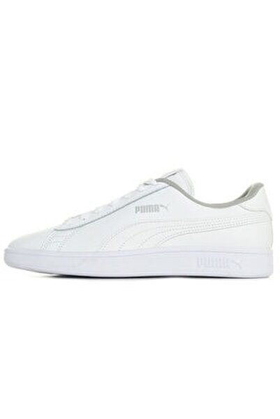 Kadın Beyaz Spor Smash V2 L Jr Ayakkabı 36517002
