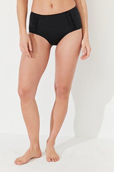 Penti Kadın Siyah Basic Yüksek Bel Bikini Altı