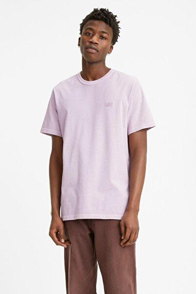 Levi's Authentic Crewneck Tee Serif Garment Kırmızı Erkek Tişört