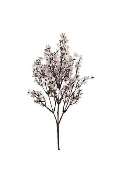 Nettenevime Yapay Çiçek Beyaz Bahardalı Mineli Demet Dekoratif Çiçek