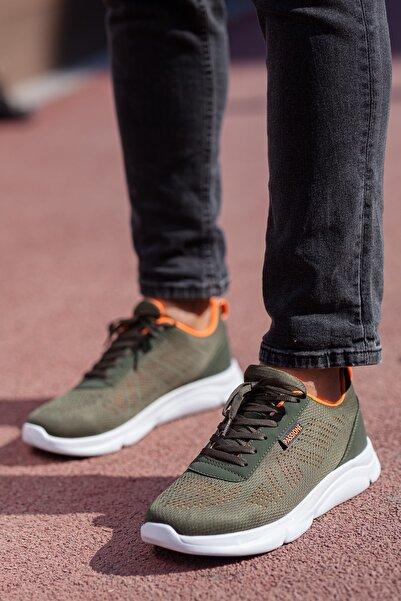 MUGGO Unısex Haki  Sneaker