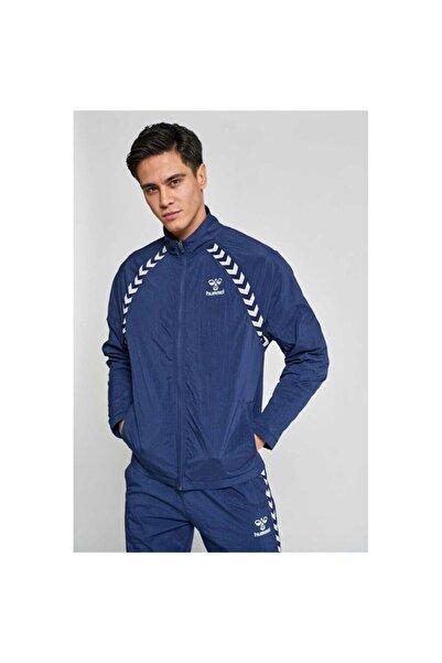 HUMMEL Erkek Mavi Zip Ceket