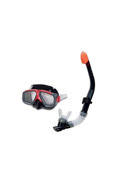 Intex Depoma Consept Siyah Şnorkel Maske Seti