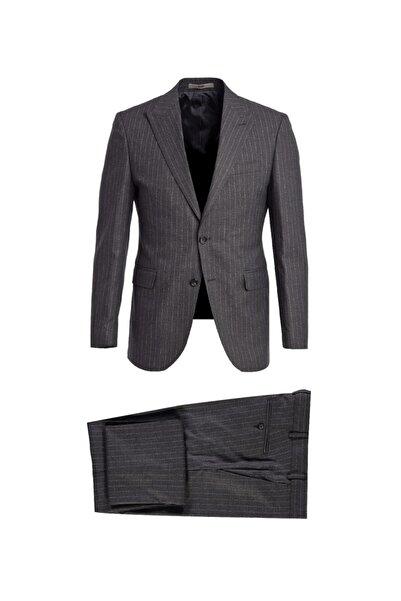 Kiğılı Çizgili Takım Elbise
