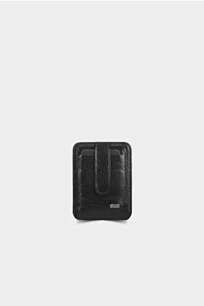 GUARD Siyah Deri Kartlık