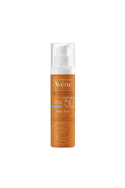 Avene Yağsız Yapışkan Olmayan Nemlendirici Fluide Dry Touch Spf 50+ Güneş Koruyucu Bakım Kremi 50ml