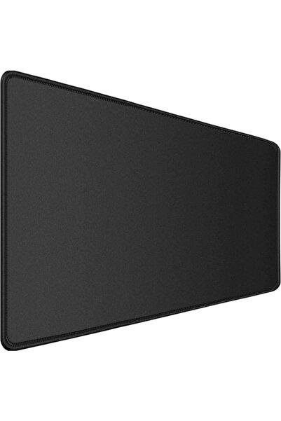 Gamingpadci Siyah Dikişli Kaydırmaz Taban Speed Yüzey Mouse Pad 90x40 cm