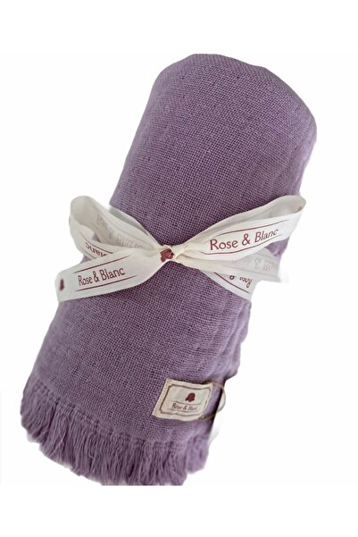 Rose & Blanc %100 Pamuk Kışlık Müslin Bebek Battaniye