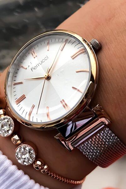 Ferrucci Kadın Kol Saati + Bileklik Hediye