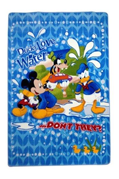 Kaşmir Çocuk Halısı Ducks Love 41 Kaymaz Taban Dokuma 133x185 Cm