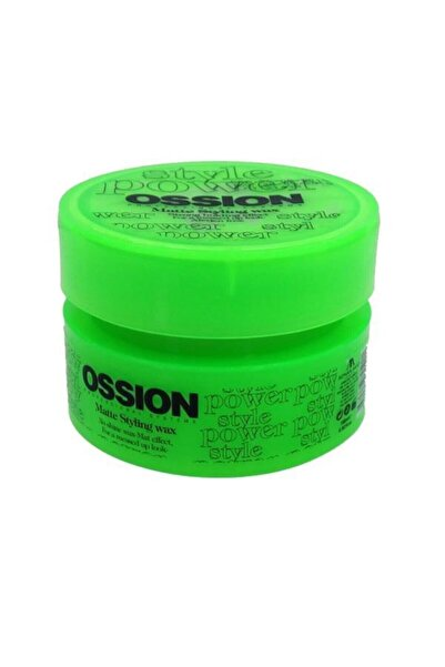 Morfose Ossion Matte Styling Wax Yeşil 100 ml