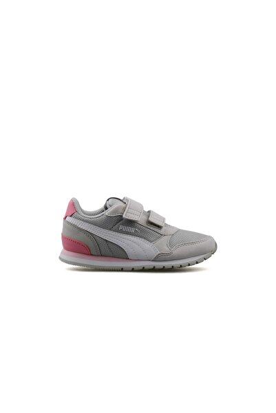 Puma Çocuk Günlük Ayakkabı 36713614 Krem St Runner V2 Mesh V Ps