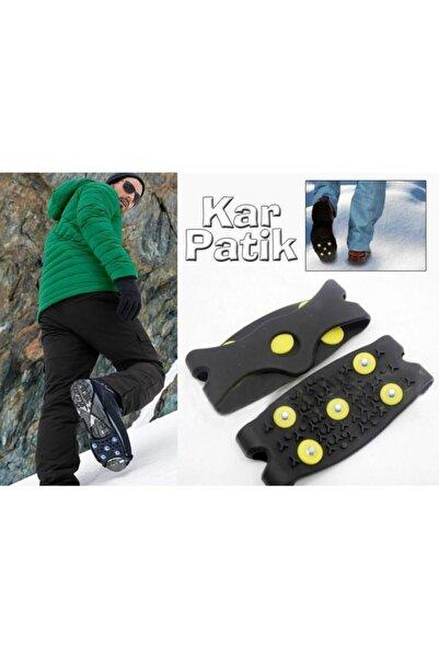 Zeki Karga Kayma Önleyici Ayakkabı Bot Kar Buz Patik Zincir Tabanlık Geçmeli