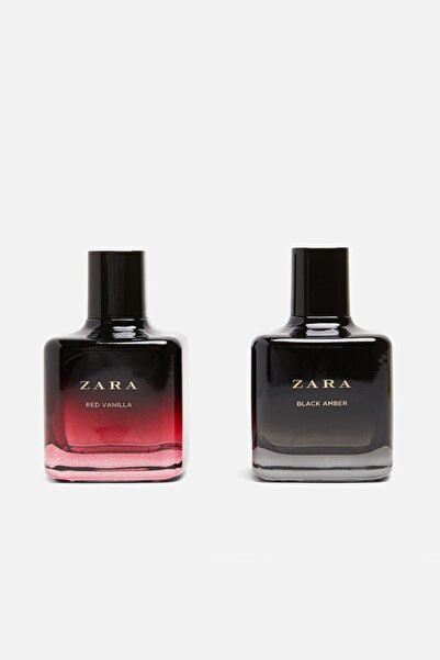 Zara Red Vanılla Eau De Toılette 100 ml + Black Amber Eau De Toılette 100 ml
