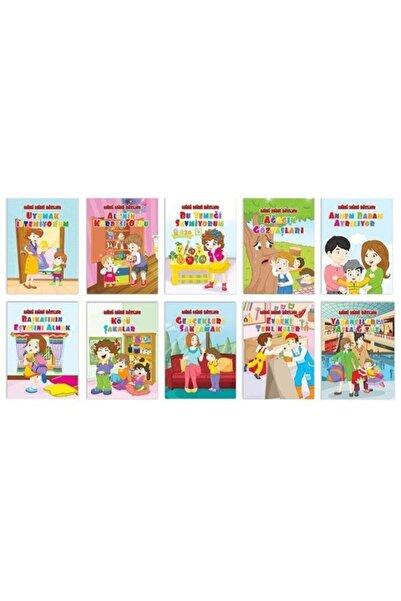 Pembe Patikler Yayınları Mini Mini Bizler - Okul Öncesi Eğitici Hikaye Seti - 10 Kitap Takım