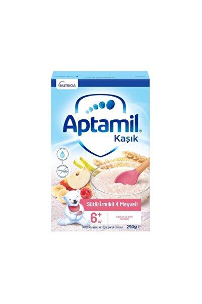 Aptamil Sütlü Irmikli 4 Meyveli Kaşık Maması 250 gr