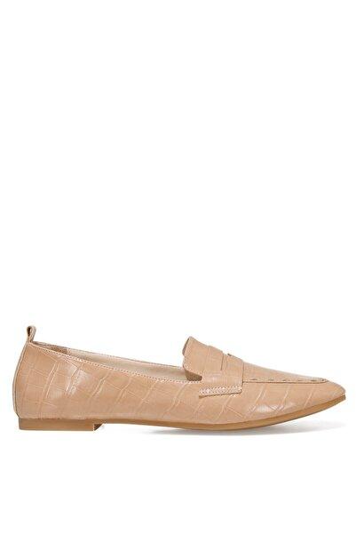 Nine West LEFUR2 Bej Kadın Loafer Ayakkabı 101028721