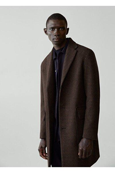 MANGO Man Geri Dönüştürülmüş Yünlü Tailored Palto