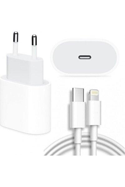 Revix Apple Macbook Ipad Iphone 11 / 12 - Pro Max Mini Uyumlu 20w Adaptör Kablo Usb-c Pd Hızlı Şarj Aleti