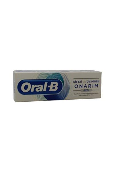Oral-B Diş Eti Ve Diş Minesi Onarım Macun 75ml Hassas Beyazlık