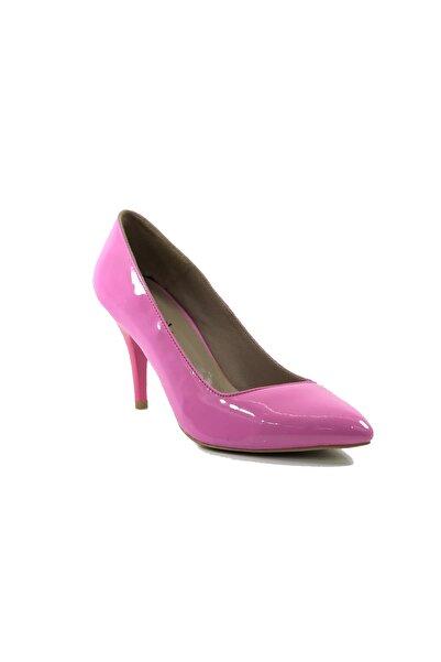 More Kadın Fuşya Rugan Topuklu Stiletto Ayakkabı 303