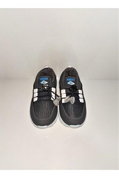 Nikko Çoçuk Gri Spor Ayakkabısı Sneaker