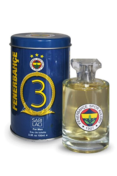 Fenerium Fenerbahçe 3 Numara Vıp Metal Kutulu 100 ml Erkek Parfümü