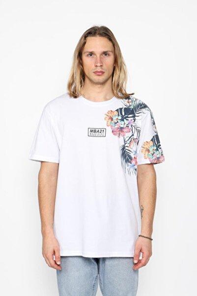 Oksit Flower Oversize T-shirt Mach1331