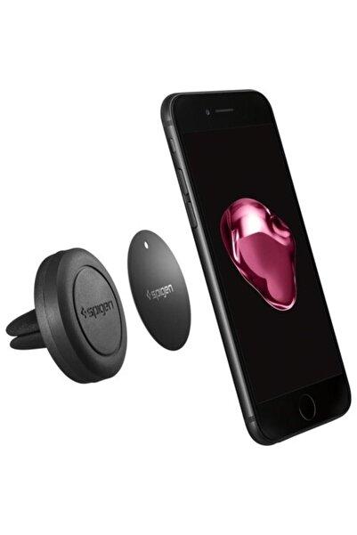 Spigen Evrensel Manyetik Araç Tutacağı, Tüm Cihazlara A200 Black