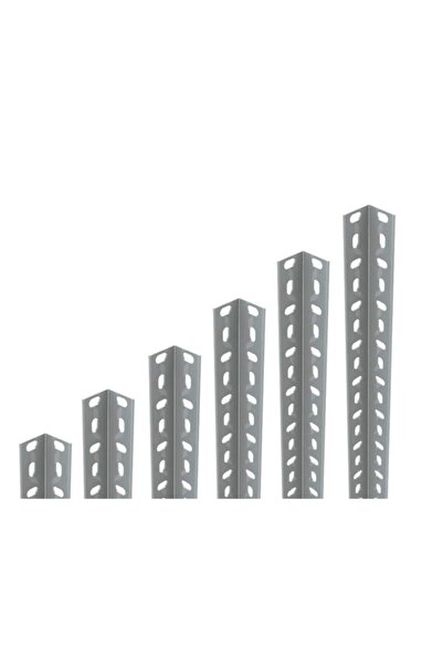 RafBurada 40x40 1,5-2,00mm Kalınlığında Galvaniz Çelik Raf Profil 1.5 Mm-200 Cm