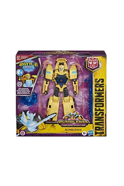 transformers Bumblebee Cyberverse Maceraları Battle Call Bumblebee Figür