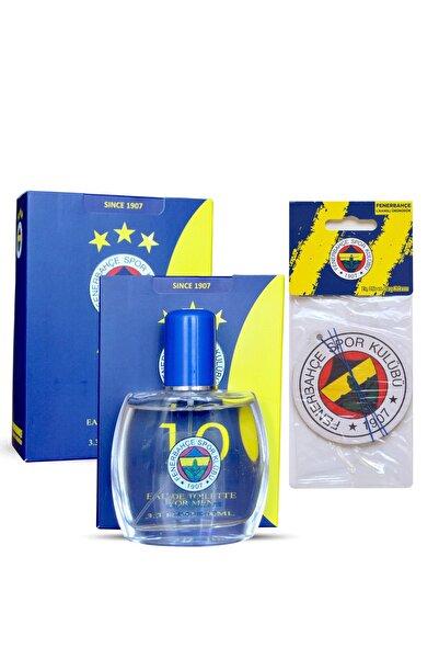 Fenerium Fenerbahçe Lisanslı Edt 100 MlErkek Parfümü  + Fenerbahçe Oto Kokusu