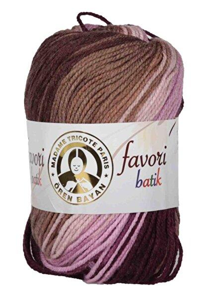 Ören Bayan Renkli Favori Batik El Örgü İpi 906