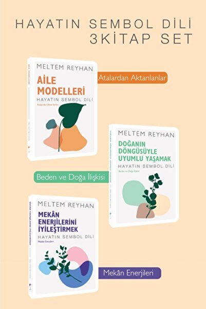 İndigo Kitap Hayatın Sembol Dili 3 Kitap Set