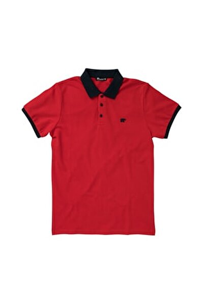 SWITCH PIQUE POLO RED