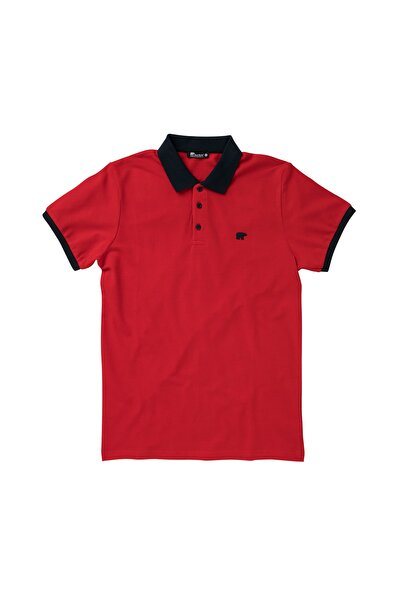 Bad Bear SWITCH PIQUE POLO RED