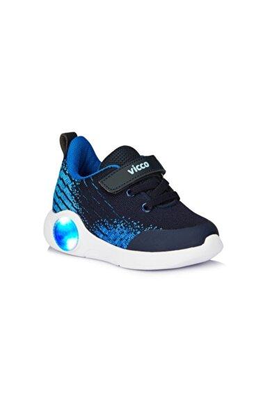 Vicco Neo Lacivert Erkek Çocuk Işıklı Phylon Spor Ayakkabı
