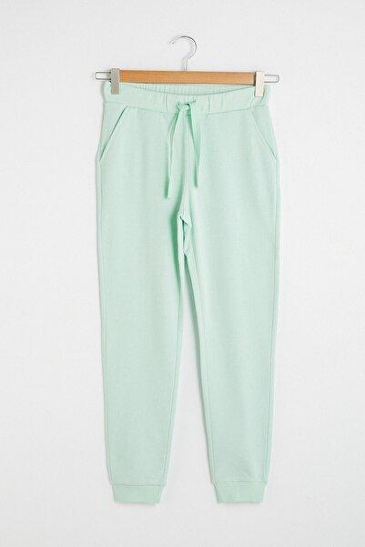 LC Waikiki Kadın Mat Yeşil Pijama Alt