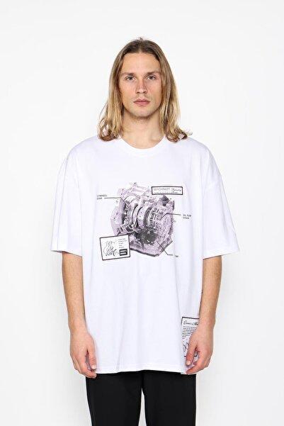 Oksit Mach1323 Industry Oversize T-shirt