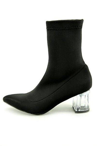 Nar Kadın Çorap Bot Şeffaf Topuk