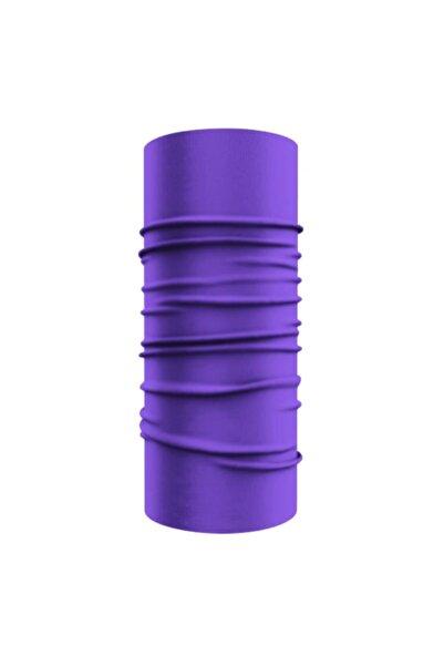 e-Taktik Purple Çok Fonksiyonlu Buff Bandana Boyunluk