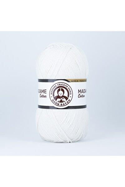 Ören Bayan Madame Cotton %49pamuk %51 Akrilik Punch (panç) Ve Amigurumi Ipi 100 Gr 002 Krem
