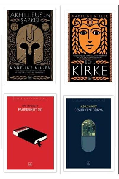 İthaki Yayınları Ben Kirke / Akhilleus'un Şarkısı / Cesur Yeni Dünya / Fahrenheit 451
