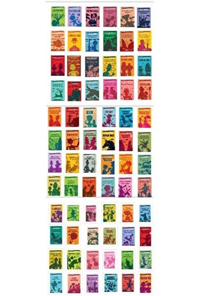 İş Bankası Kültür Yayınları Dünya Çocuk Klasikleri 100 Temel Eser 72 Kitap Set Kısaltılmış Metin